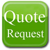 a green quote request button
